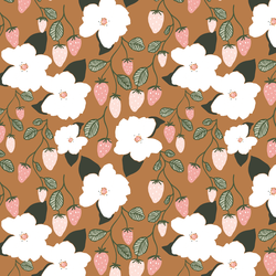 Little Strawberry Magnolias in Rosewood