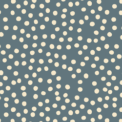 Tossed Dot in Blue