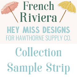 French Riviera Sample Strip