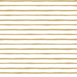 Artisan Stripe in Golden Canyon on White