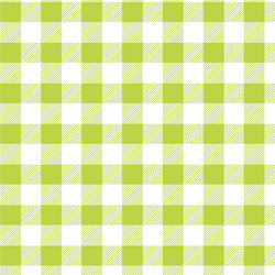 Medium Buffalo Plaid in Lime