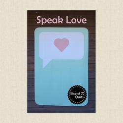Speak Love
