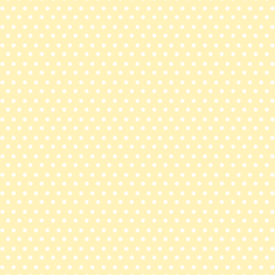 Polka Dots in Lemon Chiffon