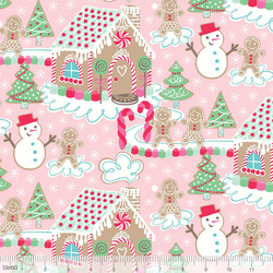 Gingerbread Dream in Pink