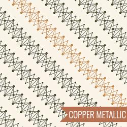DNA in Copper Metallic