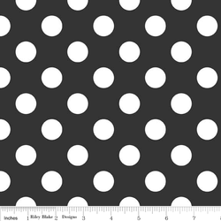 Medium Dots in Black