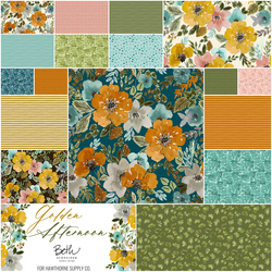 Golden Afternoon Fat Quarter Bundle