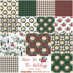 Home For The Holidays Fat Quarter Bundle Little Scale