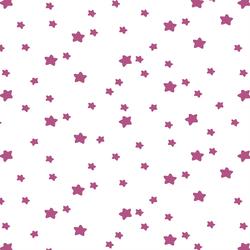 Star Light in Azalea on White