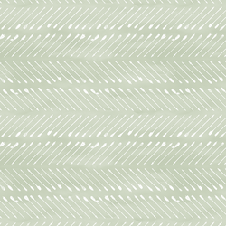 Chevron Arrows in White on Light Sage Wash