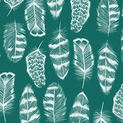 Plume in Emerald
