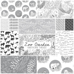 Zoo Garden Fat Quarter Bundle in Nocturnal