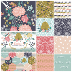 Nectar Fat Quarter Bundle in Lyrical