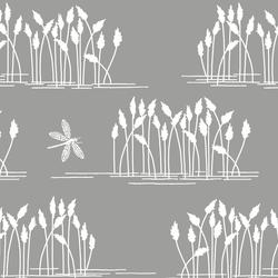 Reeds in Dark Pebble