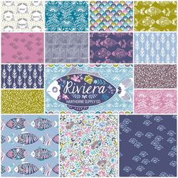 Riviera Fat Quarter Bundle in Cote d Azur