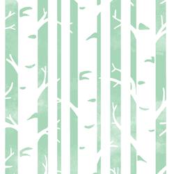 Big Birches in Seaglass