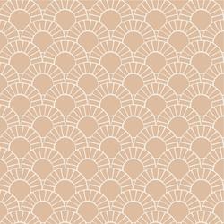 Mosaic Sun Tile in Appleblossom