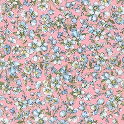 Florets in Periwinkle