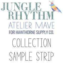 Jungle Rhythm Sample Strip