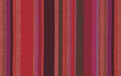 Roman Stripe in Blood Orange