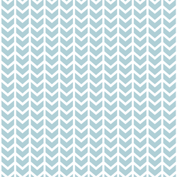 Broken Chevron in Powder Blue