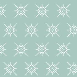 Snowflake Stitch in Aspen
