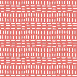 Stitched in Living Coral