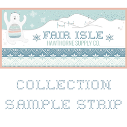 Fair Isle Sample Strip