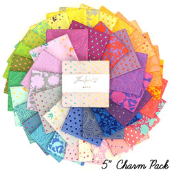 """Tula's True Colors 5"""" Charm Pack"""