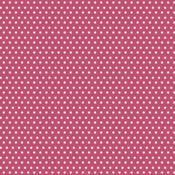 Polka Dots in Magenta