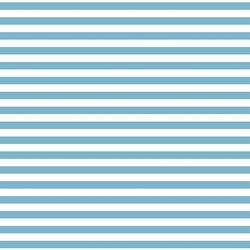 Horizontal Dress Stripe in Surf