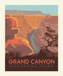 Poster Panel in Grand Canyon