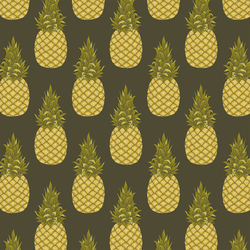 Little Pineapples in Loden Green