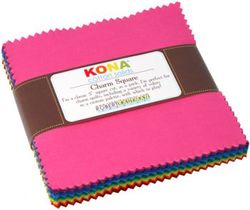 """Kona Solid 5"""" Square Pack in Classic"""