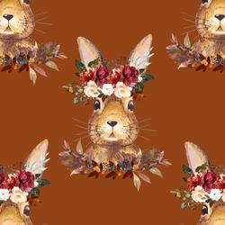Autumn Hare in Cinnamon