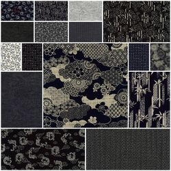 Nara Homespun 2 Fat Quarter Bundle