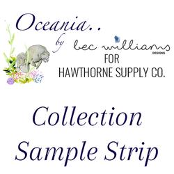 Oceania Sample Strip