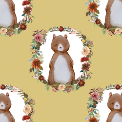 Woodland Bear in Honey