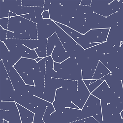 Star Charts in Indigo