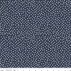 Dots in Navy