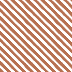 Rogue Stripe in Terracotta