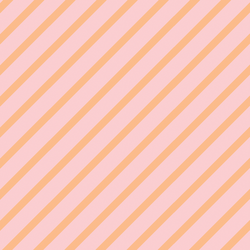 Ribbon Stripe in Strawberry Pink