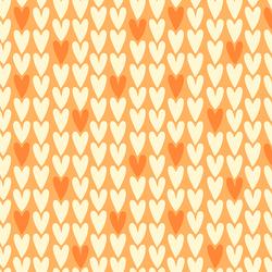 Hearts in Tangerine
