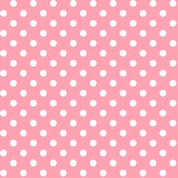 Candy Dot in Rose Pink