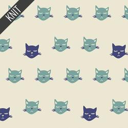 Cat Nap Knit in Blu