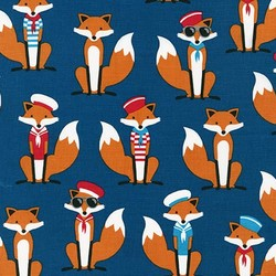 Sailor Foxes in Navy