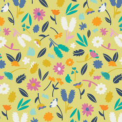 Breezy Blossoms in Pineapple