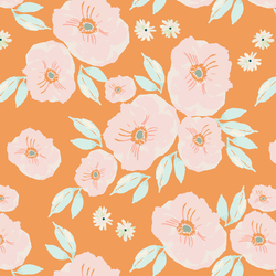 Lilies in Tangerine