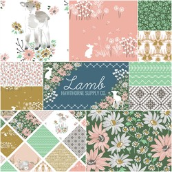 Lamb Fat Quarter Bundle in Sunny Afternoon
