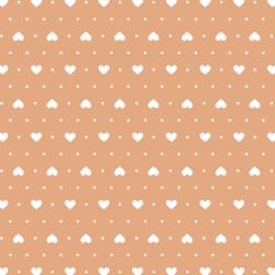 Heart Dots in Honey Tea